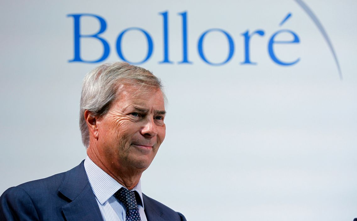 Vincent Bolloré, PDG du Groupe Bolloré